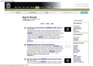 Les archives Internet de grandes bibliothèques sur le Colostrum